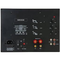 Yung SD300 300W Class D Subwoofer Plate Amplifier Module No Boost