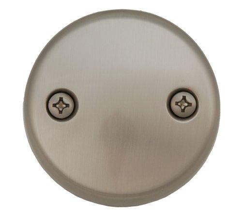 Bathtub Tub Replacement Drain Trim kit - Satin Nickel Finish, Tip Toe Type, By Plumb USA by PlumbUSA (Image #2)