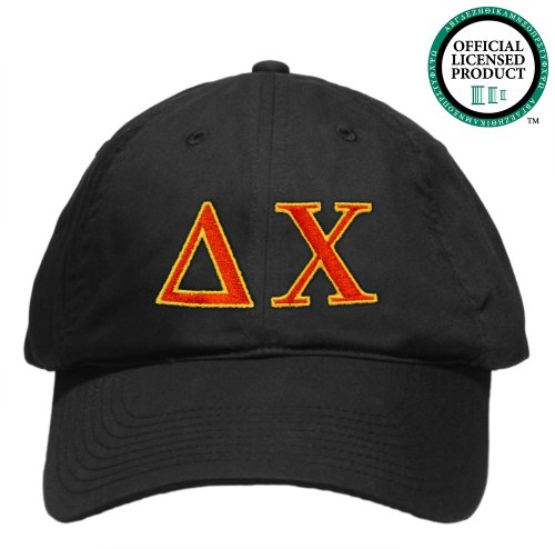 Delta Chi (D. Chi) Embroidered Nike Golf Hat, Various Colors
