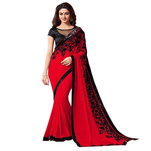 Red Saree - 9