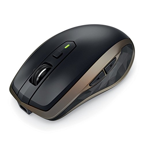 919b160f1fd Amazon.com: Logitech MX Anywhere 2 Wireless Mobile Mouse – Track on Any  Surface, Bluetooth or USB Connection, Easy-Switch up to 3 Devices, ...