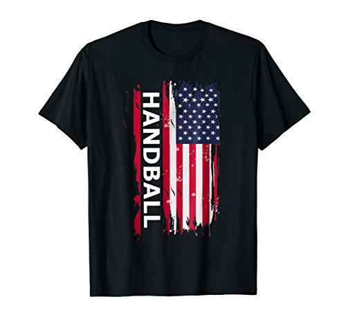 Handball USA T Shirt, Handball Players & Coaches Gift Tee