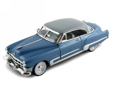 1949 Cadillac Series 62 Coupe Diecast Car Model 1/32 Blue by Signature (1949 Cadillac Series 62)