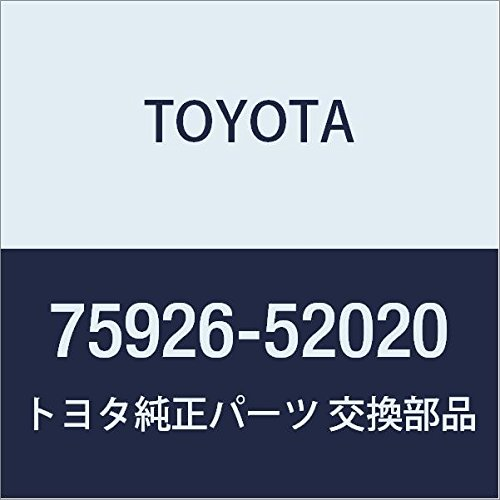 TOYOTA 75926-52020 Black Out Tape