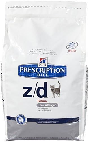 Hills Z D Low Allergen Cat Food 8.5 lb