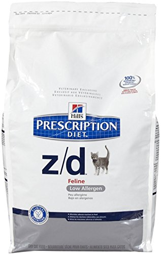 Hills Z/D Low Allergen Cat Food 8.5 lb