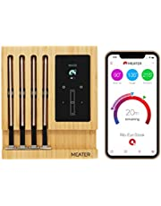 MEATER Block | Topkwaliteit Draadloze Slimme Vleesthermometer Voor De Oven, Gril, Keuken, Barbecue, Rookoven en/of Rotisserie, Met Digitale Connectiviteit via Bluetooth en WiFi