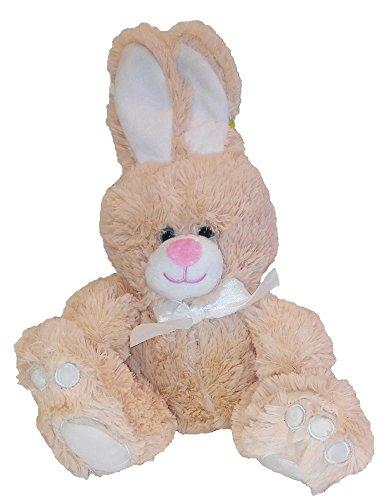 Animal Adventure Plush Toy Sitting Bunny W Bow Buttermilk