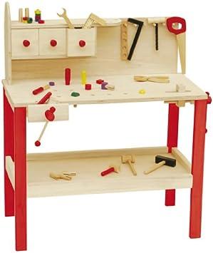 Mesa de trabajo roba, mesa de trabajo grande de madera, mesa de ...