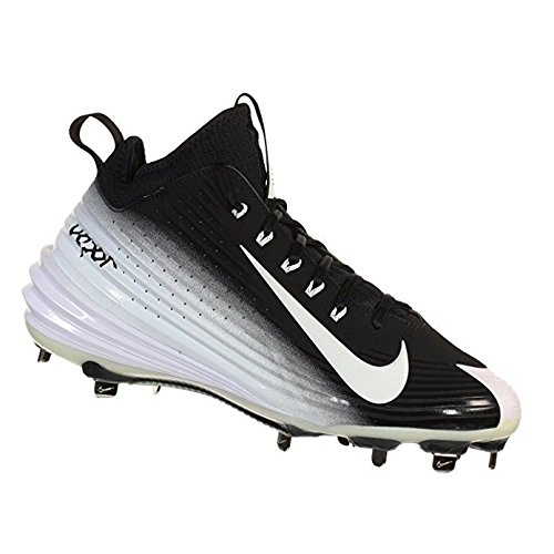 separation shoes ea58c 03c80 ... italy galleon nike mens lunar vapor trout metal baseball cleats black  white size 13 ec875 44dba