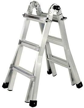 Gorilla Ladders Al 13 13 Aluminum 13 Position Ladder Stepladders Amazon Com
