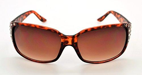 Vox tendance classique haute qualité pour femme Mode Hot Strass Lunettes de soleil W/étui microfibre gratuit - - CpofwtIN