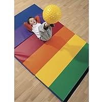 4 'x 6' colchoneta de ejercicios arco iris