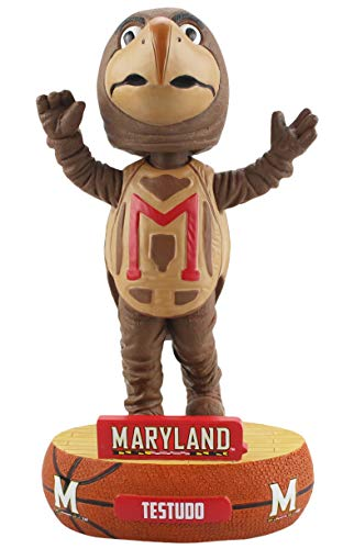 - Forever Collectibles Maryland Terrapins Mascot Maryland Terrapins Baller Special Edition Bobblehead