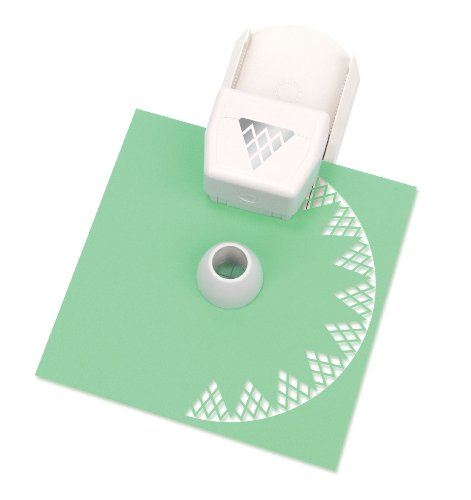 Martha Stewart Crafts Circle Edge Paper Punch, Diamond Lace