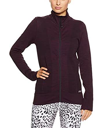 Lorna Jane Women's Freedom Seamless Jacket, Aubergine Marl, Large