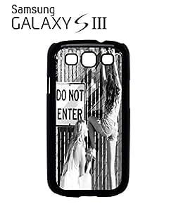 Do Not Enter Sexy Girls Mobile Cell Phone Case Samsung Galaxy S3 Black