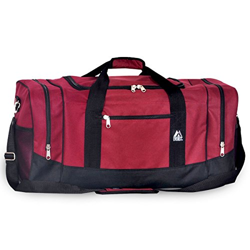 Everest Luggage Sporty Gear Bag- Large-burg by everest