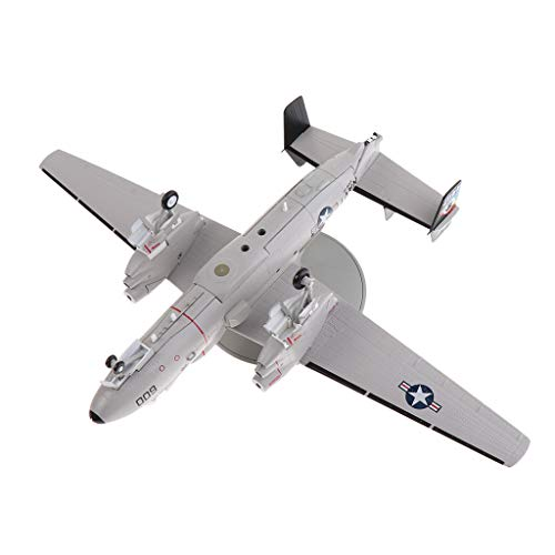 United States Army Aircraft - DYNWAVE 1/72 Alloy Diecast Aircraft Model - United States E-2C Hawkeye Airborne Early Warning Figure AEW Airforce Aircraft Plane Model Toy Gifts