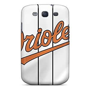 Great Cell-phone Hard Covers For Samsung Galaxy S3 (GmN75KAhq) Provide Private Custom High-definition Baltimore Orioles Skin WANGJING JINDA
