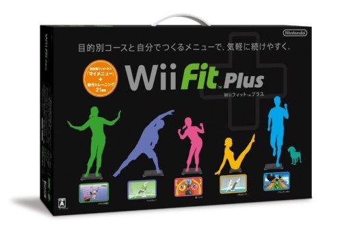 Wii Fit Plus (w/ Wii Board black) [Japan Import] by Nintendo