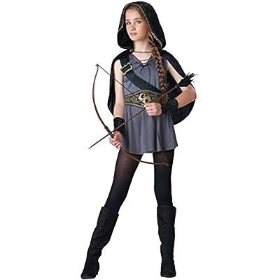 InCharacter Hooded Huntress Kids Costume: Clothing