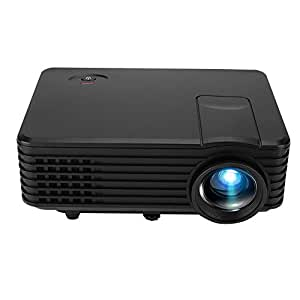 Tosuny Mini Proyector Portátil, Soporte 1080P Proyector LED HD 60 ...