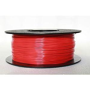 Flashforge High Speed PLA 1.75mm 1Kg 3D Printer Filament by WOL3D (Red)