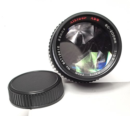 Albinar ADG 80-200mm 1:3.9 Macro Zoom Lens For Minolta MD