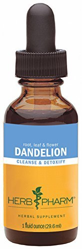 (Herb Pharm Certified Organic Dandelion Extract for Cleansing and Detoxification - 1 Ounce by Herb Pharm)