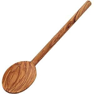 """Kesper 83001 Cooking Spoon 9.84"""" Of Olive Wood, Brown"""