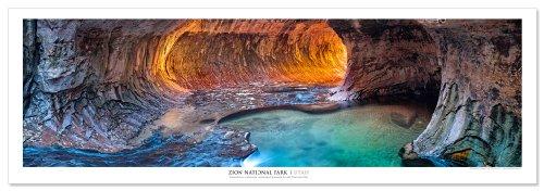 - Award Winning Landscape Panoramic Art Print Poster: Zion National Park