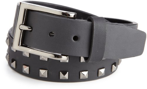 Levi's Big Boys' Stud Detail Belt, Black, Small