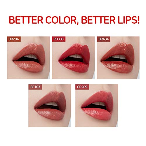 To Color Long-lasting The Shine Lipstick Better Etude Br404 Vivid Hydro House - Lips And Gives Lips-talk That