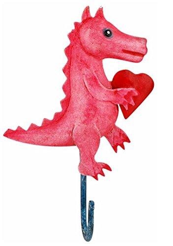 Perchero infantil ganchos gancho de dinosaurios con corazón ...