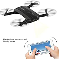 Dazhong JXD RC Quadcopter, WIFI FPV Drone with Selfie Foldable Helicopter Version Professional Multifunctional High-qualified 2.4G 6-Axis Altitude Hold HD Camera