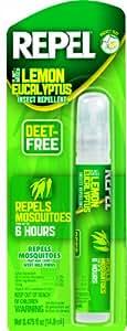 Repel 94107 0.475-Ounce Lemon Eucalyptus Insect Repellent Pen Size Pump, Case Pack of 1