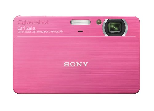 Sony Cybershot DSC-T700 10MP Digital Camera with 4x Optical Zoom with Super Steady Shot Image Stabilization (Pink) Dsc T700 Digital Camera