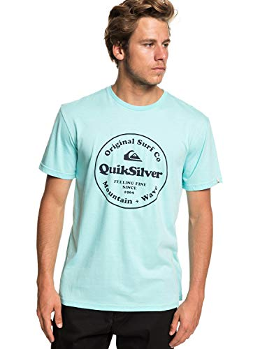 Bleu T Quiksilver T Aqua Secret Homme Splash Ingredient shirt CY4fq