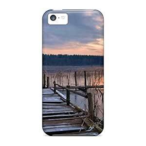 Jeffrehing Case Cover For Iphone 5c - Retailer Packaging Broken Dock Protective Case by lolosakes