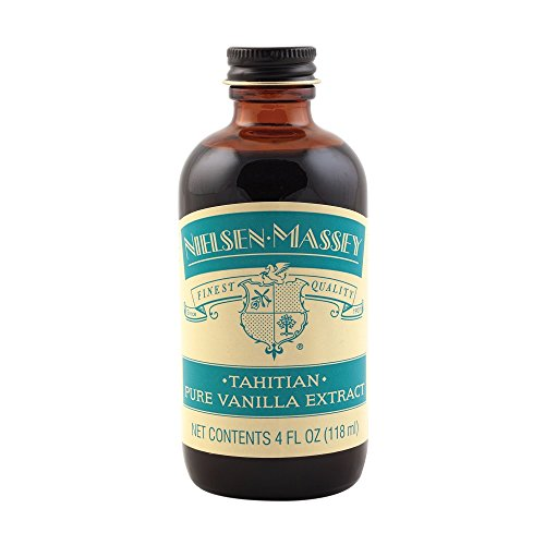 Nielsen-Massey Tahitian Pure Vanilla Extract, with exclusive gift box, 4 ounces by Nielsen-Massey