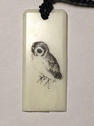 Book Owl Bookmark - Scrimshaw Reproduction Albrecht Durer