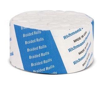 Richmond Dental Company 201210 Cotton Rolls Braided Small N/S 1.5'' 2000/Bx by Richmond Dental Company