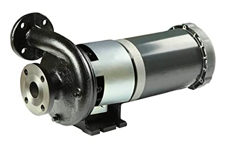 Explosion Proof Motor Closed Couple 145TC Flat Flange Ductile Iron 3 hp 5.0 Impeller 3 Phase Motor Horizontal Discharge 5.0 Impeller MP Pumps 35441 HTO 120 2 x 1-1//2 End Suction Centrifugal Hot Oil Pump
