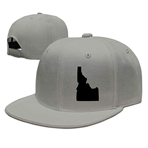 Aegatelate-hat State of Idaho Big Foam Snapback Caps Mesh Back Adjustable Cap