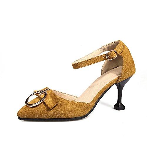 Sandales 5 Compensées 36 Femme Jaune Jaune EU BalaMasa YadqY