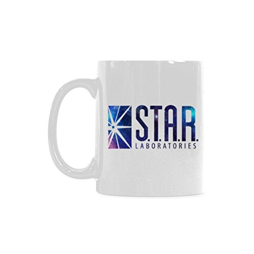 - STAR LABS Coffee Mug or Tea Cup Ceramic Material Mugs White 11OZ Inspirational gifts for friends