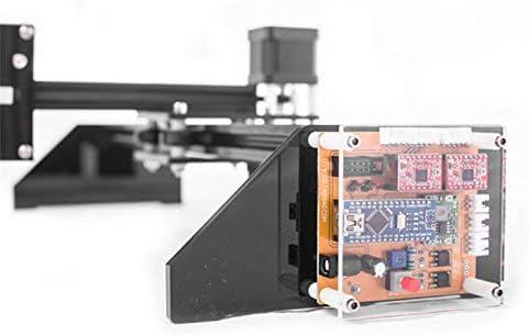 InLoveArts Kit de robot de dibujo de metal Escritor Plotter XY Kit de robot de escritura a mano Robot de escritura de dibujo automático Pluma de la máquina de la firma de