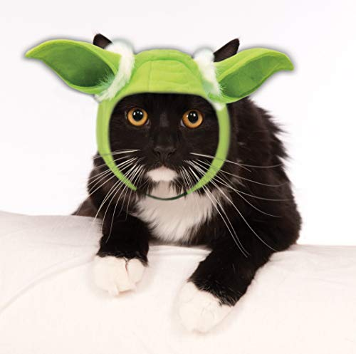 Rubie's Star Wars Classic Yoda Cat Headpiece, Multicolor - http://coolthings.us