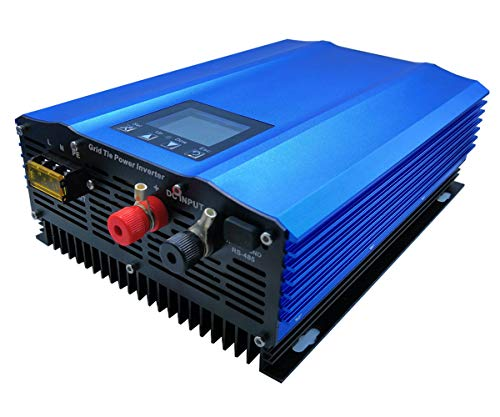 GTN-1000G24 Grid Tie Inverter 1000W for 24V Battery Discharge or PV DC Input 26v-45v Pure sine Wave Power Inverter (AC:110V(90V-140V))